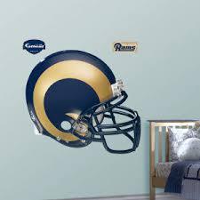 St Louis Rams Fathead Helmet Wall Decal