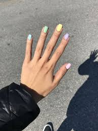 colorful summer nails for more fun in