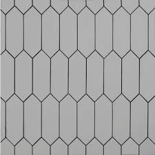 Gray Picket Ceramic Tile 4 X 12 100465145 Floor And Decor