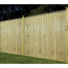 6 X 8 Moulded Stockade Fence Panel Wood Fencing Kent Building Supplies