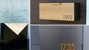 16 Sleek Handmade Modern Mailbox Designs To Complement Your Exterior