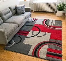 grey modern geometric comfy casual