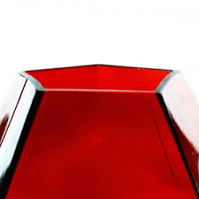 geometric terrarium glass vases
