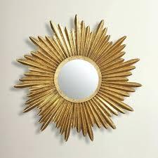 delightful sunburst mirror wall art set
