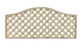 Heavy Duty Omega Top Lattice Trellis Panel Cocklestorm Fencing