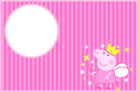 Peppa Pig Fairy Invitations And Free Party Printables Fiesta