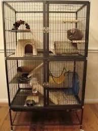 ferret cage small pet chinchilla rabbit