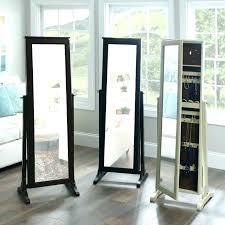 standing mirror jewelry storage free