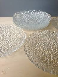 glass plates from crate barrel