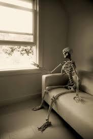waiting skeleton meme funny image photo
