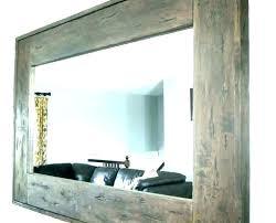 rustic wall mirrors csemoney club