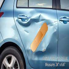 Amazon Com Giant Band Aid Car Decal Vinyl Decal Sticker For Car Truck Vehicle Window Sports Outdoors