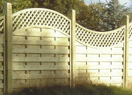 Arched Lattice Top Europanel Bingley Fencing And Timber Timber Fences Furniture Bradford West Yorkshire