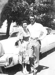 Carl Smith and wife June Carter, mid 1950s. | Best country music, Country  music singers, Country music artists