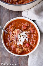 the best paleo chili whole30 keto