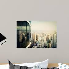 Modern Office Building Wall Decal Wallmonkeys Com