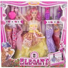 barbie doll ke makeup ka saman banana