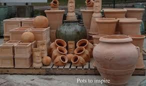 large terracotta garden pots apta