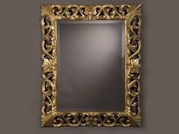 gold leaf baroque style frame and