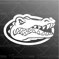 Florida Gator Decal Florida Gator Car Sticker Great Prices