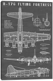 Aviation Blueprints Canvas Art Icanvas