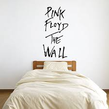 Amazon Com Pink Floyd The Wall Vinyl Wall Words Decal Sticker Graphic Handmade
