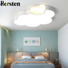 Simple Modern Led Cloud Ceiling Light Kids Room Lighting Children Ceiling Lamp Baby Dimmable Lights For Boys Girls Bedroom Ceiling Lights Aliexpress