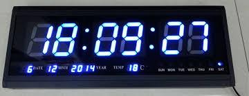 led wall clock watches modern design