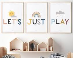 Kids Wall Decor Etsy