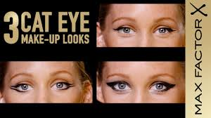3 cat eye make up looks for your eye