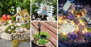 diy miniature fairy garden ideas