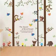 Kids Animals Home Decoration Wall Decal Children Bedroom Playroom Wall Sticker Ebay