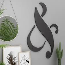 Ampersand Sign 3d Wall Decor Moonwallstickers Com
