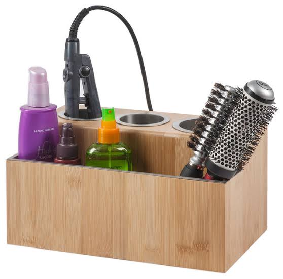 Image result for Hair Styling Station Organizer