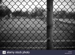 Black And White Chain Link Fence Background Image With Background Stock Photo Alamy