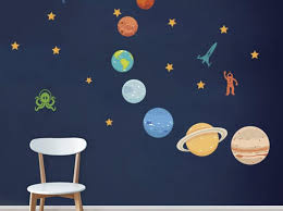 Glow In The Dark Wall Decal Australia Outer Space Halloween Fish Solar System Design Planet Peel And Stick Snowflake Target Nz Vamosrayos