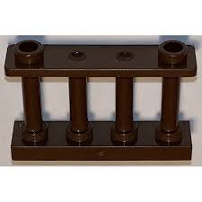 Lego Brown Fence Spindled 1 X 4 X 2 With 2 Top Studs 30055 Brick Owl Lego Marketplace