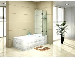 bathtub glass screen bath tub panel