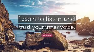 rajneesh e learn to listen and