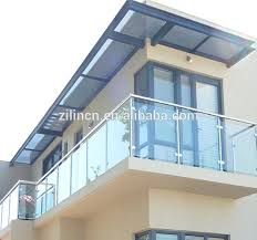 top grade glass barade balcony