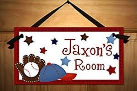 Buy Personalized Kids Door Sign For Boys Baseball Sports Name Plaque Kids Bedroom Door Sign Ds0086 In Cheap Price On Alibaba Com