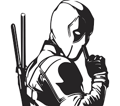 Excited To Share This Item From My Etsy Shop Deadpool Shh Vinyl Decal For Cars Laptops Etc Accessori Silhouette Art Car Decals Vinyl Silhouette Painting