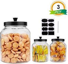 com 100oz 3quart glass jars