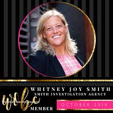 October 2019 WOBC Spotlight Whitney Joy Smith
