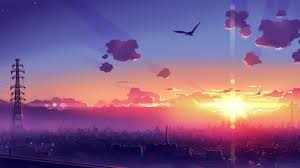 anime scenery wallpaper 1366x768 id