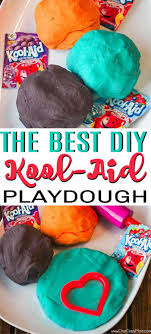 kool aid playdough learn how to make