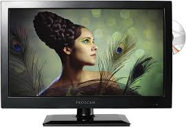 Amazon Com Proscan 19 Inch Led Tv 720p 60hz Dvd Player Pledv1945a B Model Electronics