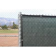 Ncsna 6 Ft X 11 67 Ft L Dark Green Hdpe Chain Link Fence Screen Lowes Com In 2020 Fence Panels Fence Screening Privacy Fence Screen