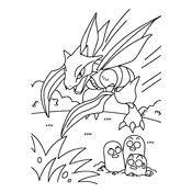Kleurplaat Pokemon Kaarten
