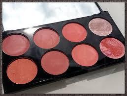 makeup revolution blush palette review